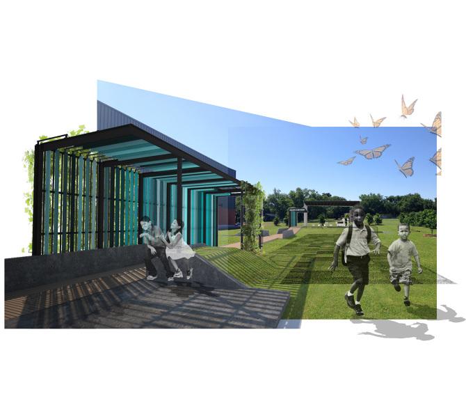Edible schoolyard at arthur ashe colectivo for Garden pavilion crossword clue