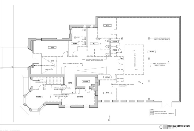 Plan From Original Building